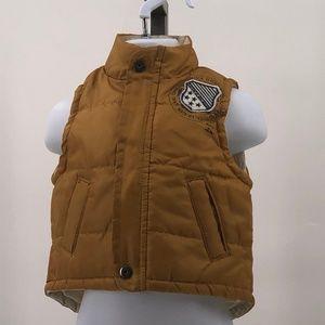 Calvin Klein puffer vest snap zip up infant 6-9M
